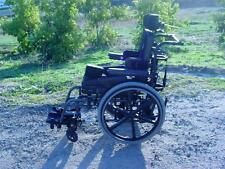 SUNRISE MOBILITY - QUICKIE 2 WHEELCHAIR - HARNESS - FREEDOM DESIGNS SEAT W/ OXY