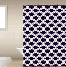 Merlyn Black 13-Pc Bath Shower Curtain & Rings Bathroom Accessory Set