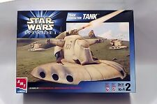AMT 30123 Star Wars Trade Federation Tank 1/32 Scale Plastic Model Kit