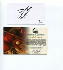 Ben Curtis PGA Golf British Open Champ Ryder Cup Signed Autograph COA