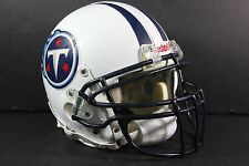 TENNESSEE TITANS Game USED WORN NFL Football Helmet 2004 CHRIS BROWN PHOTOMATCH