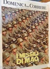 LA DOMENICA DEL CORRIERE 12 maggio 1970 Mao Tse tung Paolo VI Mario Lanfranchi