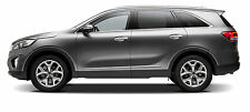 For: KIA SORENTO; Body Side Moldings Mouldings LOWER CHROMED Trim 2011-2017