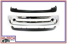 NEW 02 03 04 05 DODGE RAM 1500 PICKUP CHROME FRONT BUMPER COMBO 55077946AA