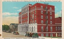 Hotel Beecher in Somerset KY Postcard 1944