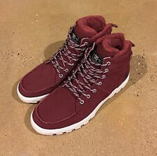 DC Woodland Boots Syrah Men's Size 12 Moc Toe Winter Boots BMX MOTO Sneakers