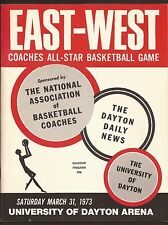 3-31-73 NCAA EAST WEST COLLEGE ALL-STAR GAME  -  UNIV. OF DAYTON