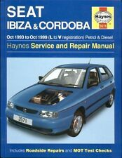 SEAT IBIZA / CORDOBA 1.0 1.3 1.4 1.6 2.0 PETROL & 1.9 DIESEL 1993- REPAIR MANUAL