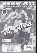 2005/06 BOREHAM WOOD V ARSENAL XI 10-08-2005 Pre-Season Friendly