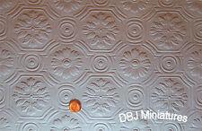 Dollhouse Ceiling Wallpaper - 2 Large Sheets!!  2 Designs   DBJ-03