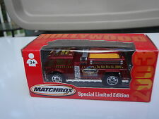 Fire Truck Hollyood Toy Fair Matchbox 2003 New in Box
