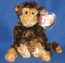 TY SWINGER the MONKEY BEANIE BABY - MINT with MINT TAGS (PRICE STICKER)