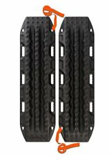 Maxtrax BLACK 4WD Recovery Tracks Sand Mud Snow Offroad Heavy Duty 4X4 - OZ MADE