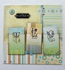 Leanin Tree Get Well Soon Greeting Card Scrapbook Multi Color R29