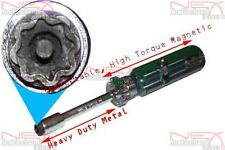 8 Point #801 Cable TV Box Prep Slam Lock Star Key Newelectronx Channell Tool PPW