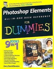 Photoshop Elements All-in-One Desk Reference for Dummies book