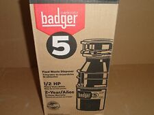 New InSinkerator Badger 1/2 HP Food Waste Disposer/Garbage Disposal 5
