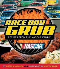 NEW SEALED Race Day Grub Recipes NASCAR Cookbook Angela Skinner Racing Gift