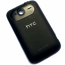 100% Genuine HTC Wildfire S G13 rear battery cover back fascia housing Black