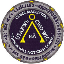USAF 328th WEAPONS SQUADRON CWO-WIC CLASS 2016A PATCH