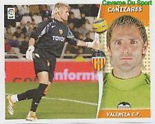 343 CANIZARES ESPANA VALENCIA.CF STICKER LIGA ESTE 2007 PANINI