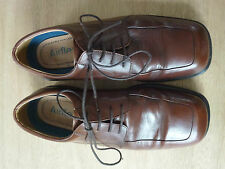..Mens leather AIRFLEX size 7 tan very comfortable shoes worn 10 hours- Cost £55