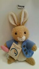 """PETER RABBIT 10 1/2"""" MUSICAL WINDING STUFFED TOY BY EDEN  ~ NWT ~"""