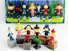 Cartoon Ben and Holly's Little Kingdom 8PCS Figures 3″ Pendant New