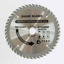 TCT Circular saw Blade 160mm 48 Teeth SHARK BLADES