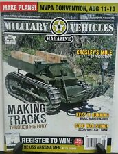 Military Vehicles Magazine August 2016 MVPA Convention FREE SHIPPING