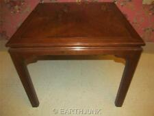 Ethan Allen Canova Solid Cherry Corner Square End Table 27 8004