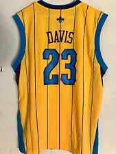 Adidas NBA Jersey NEW ORLEANS Hornets Anthony Davis Gold sz XL  NOW PELICANS
