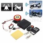 Motorcycle Bike Scooter Car Anti-theft Security Alarm System Remote Control 12V