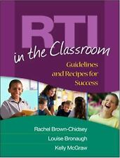 RTI in the Classroom: Guidelines and Recipes for Success - Acceptable - Rachel B