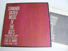 STANDARD SACRED MUSIC OF THE AGES American Hymns Folkways USA LP