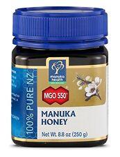 Manuka Health - MGO 550+ Manuka Honey, 100% Pure New Zealand Honey, 8.8 oz NEW
