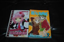SHUGO CHARA Peach Pit #1 ULTRA MANIAC  #2 Japanese Anime Manga Graphic Novels