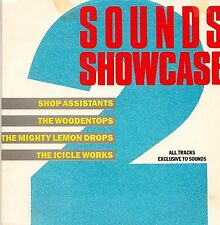 "SOUNDS SHOWCASE 7"" SHOP ASSISTANTS/WOODENTOPS/MIGHTY LEMON DROPS/ICICLE WORKS EX"