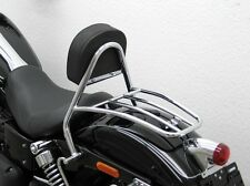 Fehling solo seat sissy bar/rack to fit Harley-Davidson FXDWG FXDF 2008 & Later
