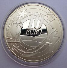 Ireland 10 Euro 2009 silver coin European Cultural Heritage 80 years Ploughman