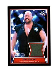 WWE Big Show 2014 Topps Road To WrestleMania Event Used Shirt Relic Card DWC