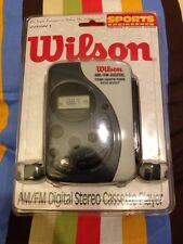 WILSON AM/FM Digital Stereo Cassette Player with Boost - NEW, VINTAGE, IN BOX