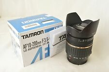 #707 Tamron AF 18-200mm F/3.5-6.3 XR Di Ⅱ Macro A14 For Sony/Minolta From Japan