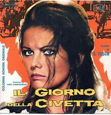 OST-Giovanni Fusco-Il Giorno Della Civetta 45 giri promo NM
