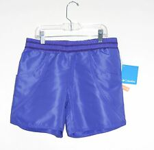 Columbia Girls Purple Solar Stream II Boardshort, Sz Large