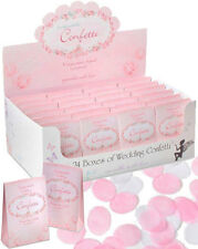 24 BOXES VINTAGE ROSE PETAL BIODEGRADABLE WEDDING PAPER CONFETTI - DISPLAY BOX