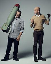 Jordan Peele And Keegan Michael Key Glossy 8x10 Photo 1