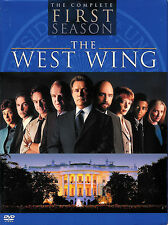 The West Wing ~ The Complete First Season ~ 4-Disc DVD Box Set ~ FREE Shipping