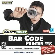 QuickStart Bar Code Printer Pro  New Sealed XP Vista 7 8   Easy to Use