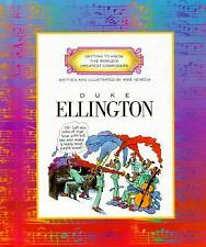 Duke Ellington (Getting to Know the World's Greatest Composers)-ExLibrary